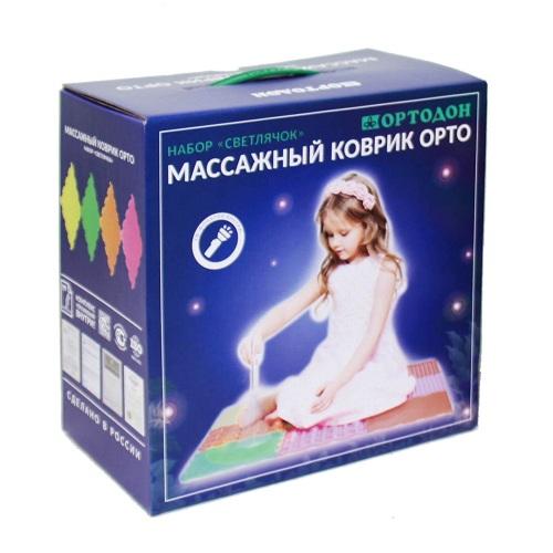 """Модульный коврик """"Ортодон"""", набор №6 Светлячок"""