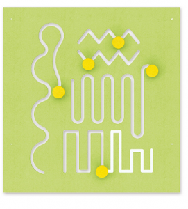 Доска манипулятивная ( 68 x 71 см)