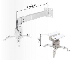 Кронштейн для проектора  макс.20кг потолочный фиксированный