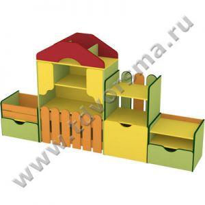 М-623 Стенка детская «Весёлая ферма»