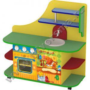 М-716 Кухня игровая на колесах «Мария» (с рисунком)