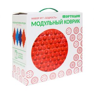 """Модульный коврик """"Ортодон"""", набор №7"""