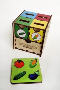 """Комодик-куб """"Овощи"""""""