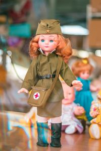 Кукла военный Катюша