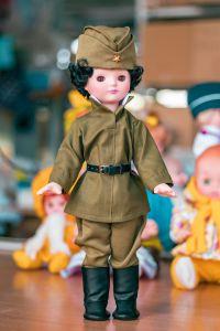 Кукла военный Алеша